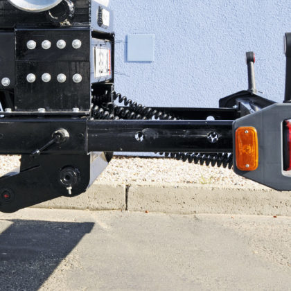 Mechanical extensible bumper
