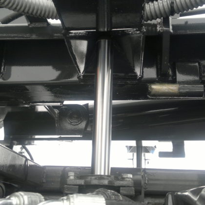 Unité de levage hydraulique : position étendue