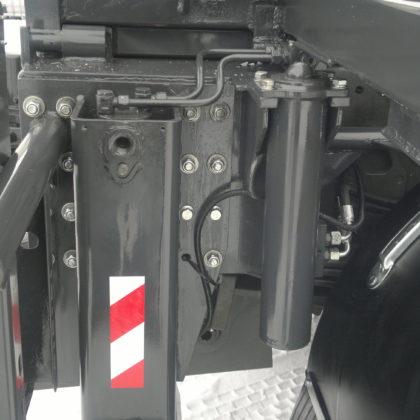 Hydraulická zdvižná jednotka - přepravní pozice