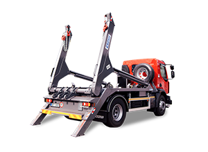 Skip lifts with loading capacity from 14 to 18 tonnes